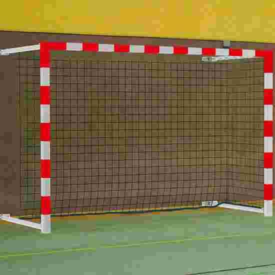 Sport-Thieme 3×2 m, pivoting with SimplyFix Handball Goal Red/silver