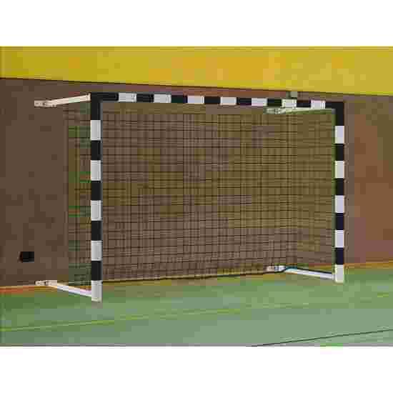 Sport-Thieme 3×2 m, pivoting with SimplyFix Handball Goal Black/silver