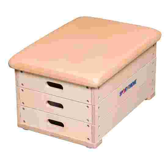 Sport-Thieme 3-Part Plywood Vaulting Box With leather cover