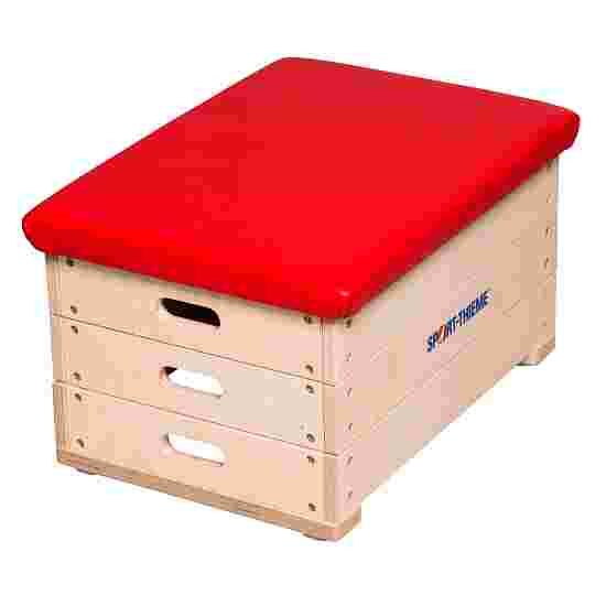 Sport-Thieme 3-Part Plywood Vaulting Box With imitation leather cover