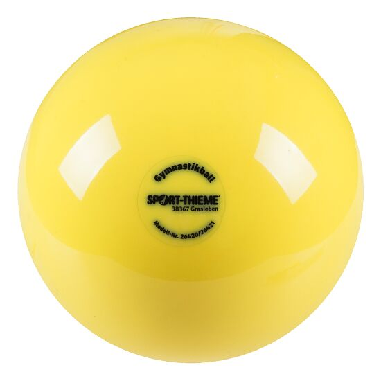 "Sport-Thieme® ""300"" High-Gloss Gymnastics Ball Yellow"