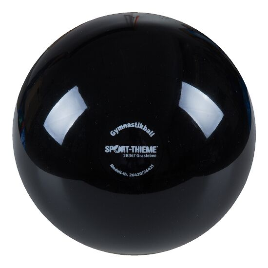 "Sport-Thieme® ""300"" High-Gloss Gymnastics Ball Black"