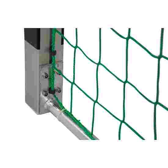 Sport-Thieme 3x2 m, standing in ground sockets Handball Goal Bolted corner joints, Black/silver