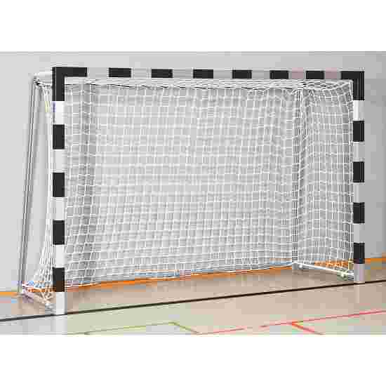 Sport-Thieme 3x2 m, standing in ground sockets Indoor Handball Goal Bolted corner joints, Black/silver
