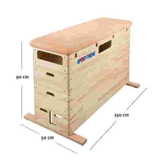 "Sport-Thieme 4-Part ""Original"" Vaulting Box Without swivel castor kit"