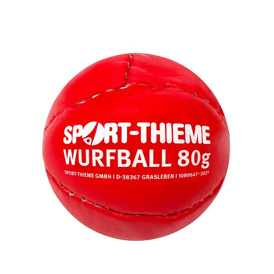 Sport-Thieme 80-g Throwing Ball Red