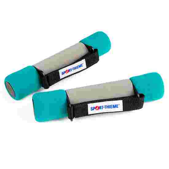 Sport-Thieme Aerobic håndvægte 1,5 kg, grøn