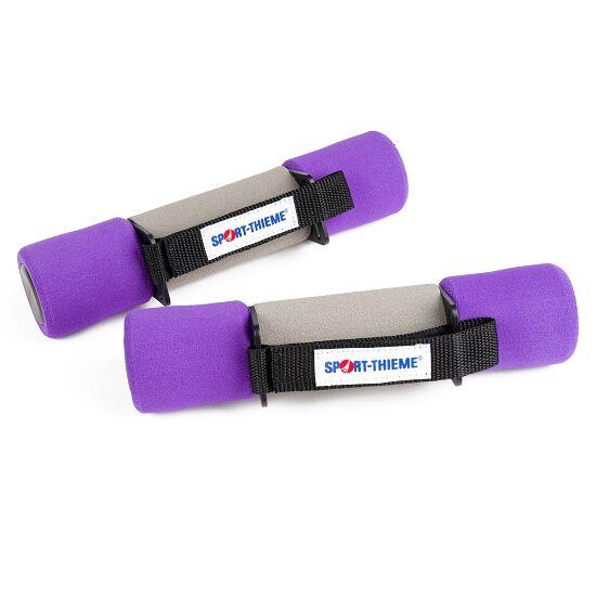Sport-Thieme® Aerobic håndvægte 2 kg, lilla