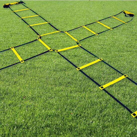 "Sport-Thieme ""Agility"" Coordination Ladder 4x2 m, Quadruple ladder"