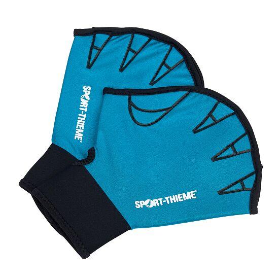 Sport-Thieme Aqua-Fitness-Handschuhe, offen S, 23,5x16,5 cm, Türkis