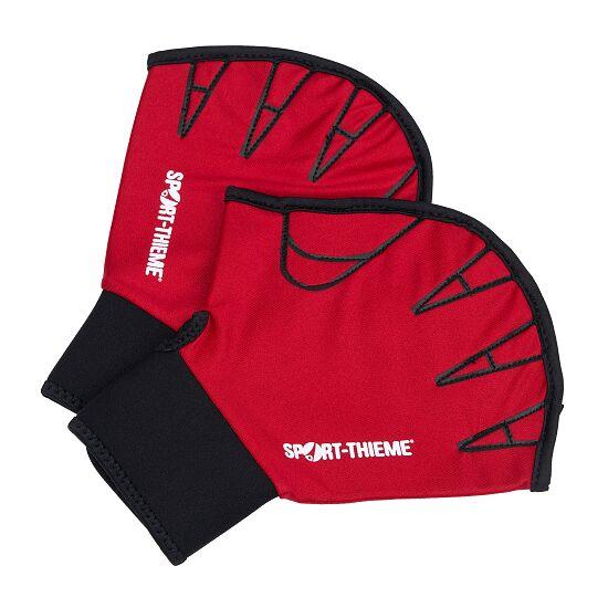 Sport-Thieme Aqua-Fitness-Handschuhe, offen M, 25x18 cm, Rot