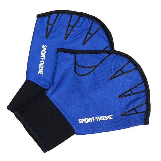 Sport-Thieme Aqua-Fitness-Handschuhe, offen L, 26,5x19 cm, Blau