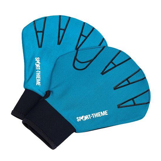 Sport-Thieme® Aqua-Fitness-Handschuhe S, 23,5x16,5 cm, Türkis