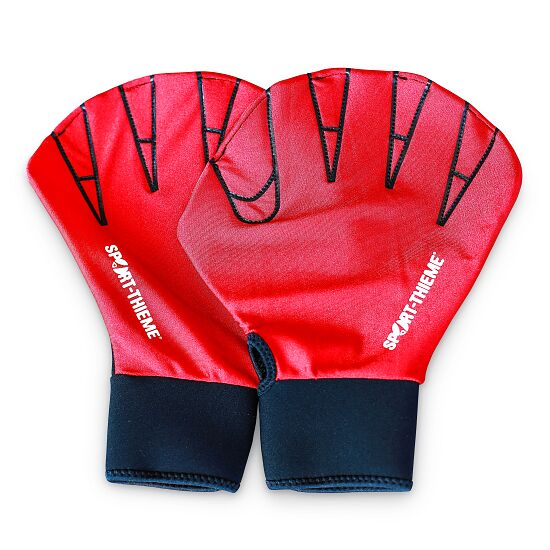 Sport-Thieme® Aqua-Fitness-Handschuhe M, 25x18 cm, Rot