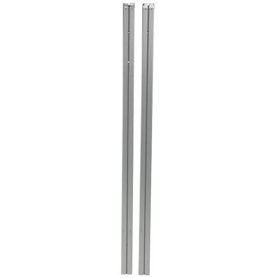 Sport-Thieme® Badminton-Pfosten für Bodenhülsen Profil 80x80 mm