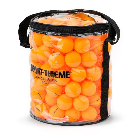 Sport-Thieme® Balleimer mit Tischtennis-Trainingsbällen Bälle Orange