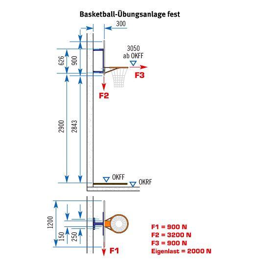 Sport-Thieme® Basketball-Übungsanlage Ohne Höhenverstellung