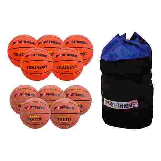 "Sport-Thieme Basketball-Set  ""Youth"" Jugend (Größe 6)"