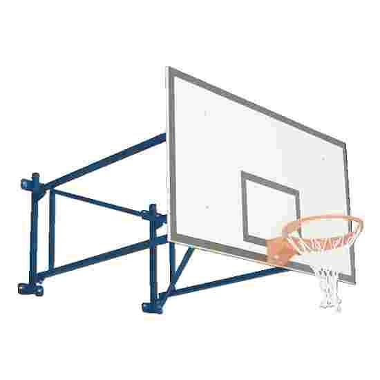Sport-Thieme Basketball-væganlæg, drejelig Fremspring 225 cm, Betonvæg