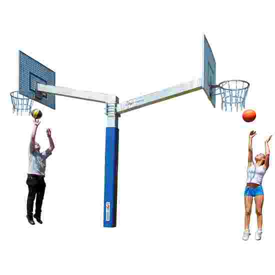 "Sport-Thieme Basketballanlæg ""Fair Play Duo"" Kurv ""Outdoor"", Basketplade: Aluminium"