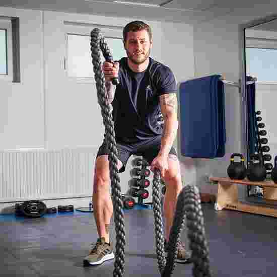 Sport-Thieme Battle Rope Ohne Nylonummantelung, 15 m, 10 kg