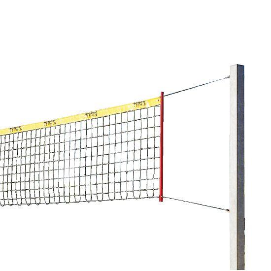 """Sport-Thieme® Beach-Volleyball Anlage """"Stabil"""" Ohne Säulenschutzpolster, Netz ohne Ummantelung"""