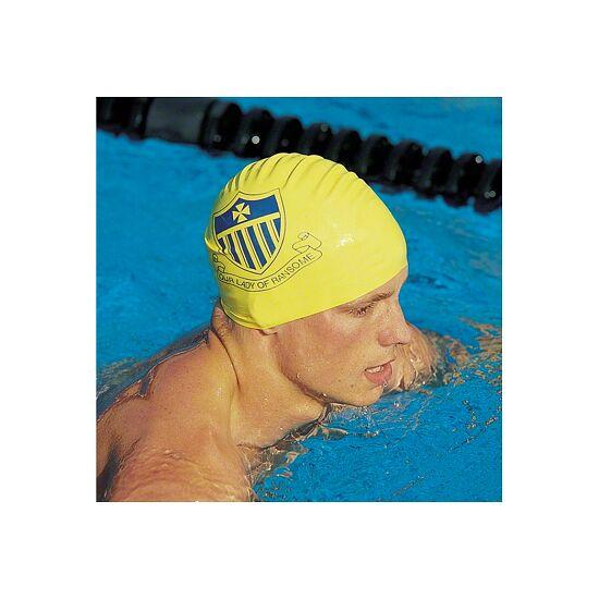 """Sport-Thieme bedruckbare Schwimmkappe """"Latex"""" Weiß, 1-seitig"""