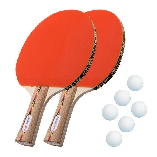 "Sport-Thieme® ""Berlin"" Table Tennis Bat Set White balls"
