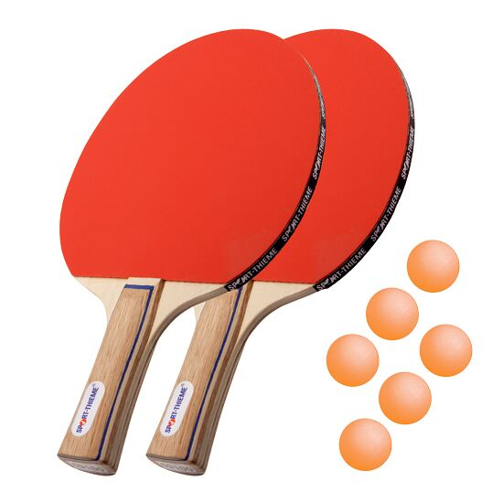 "Sport-Thieme® Bordtennis-sæt ""Paris"" Orange bolde"