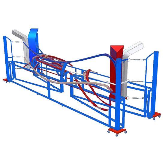 Sport-Thieme® Boxring klappbar 5x5 m