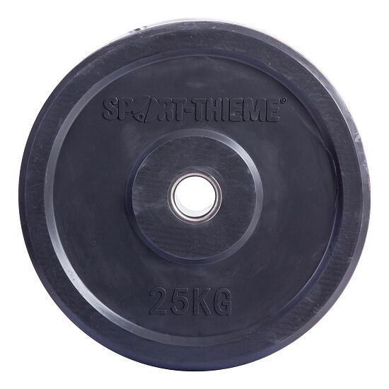 Sport-Thieme® Bumper Plate, bunt 25 kg, Dunkelgrau