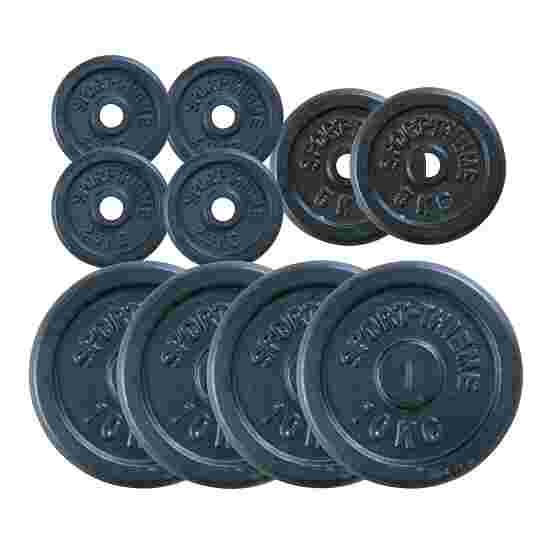 Sport-Thieme Cast Iron Weight Disc Set, 50 kg