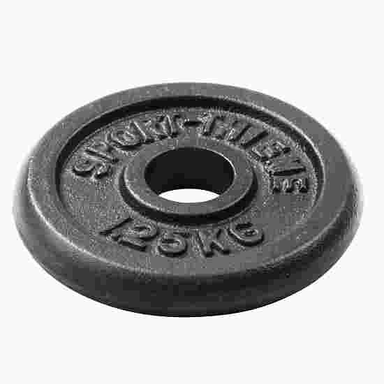 """Sport-Thieme """"Cast Iron"""" Weight Plate 1.25 kg"""