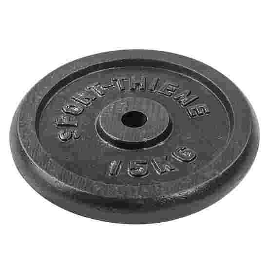 """Sport-Thieme """"Cast Iron"""" Weight Plate 15 kg"""