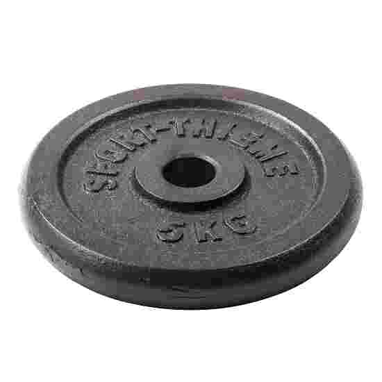 "Sport-Thieme ""Cast Iron"" Weight Plates 5 kg"