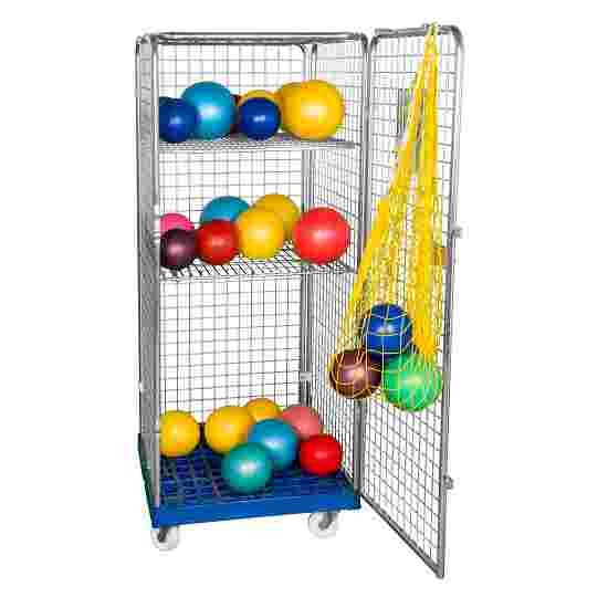 """Sport-Thieme """"Classic-Rollbox N°5"""" Transport Trolley 1 door, With 2 collapsible shelves"""