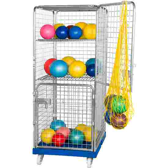 """Sport-Thieme """"Classic-Rollbox N°5"""" Transport Trolley 2 doors, With 1 fixed and 1 collapsible shelf"""
