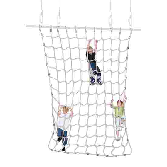 Sport-Thieme Climbing Net Soft staple fibre, natural colours, 3x2.5 m