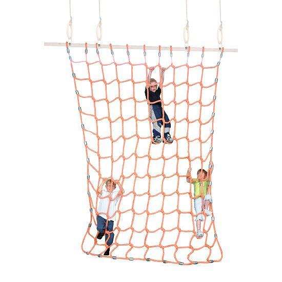 Sport-Thieme® Climbing Net Polypropylene, orange, 2x2 m