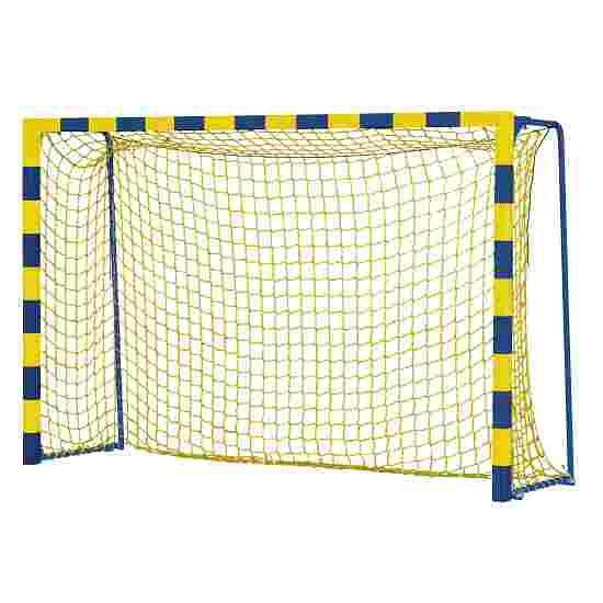 """Sport-Thieme """"Colour"""" Handball Goal with Static Net Brackets Standard, goal depth 1 m, Yellow/blue"""