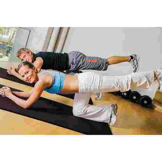 "Sport-Thieme ""Comfort"" Exercise Mat Approx. 180x100x0.8 cm, Black"