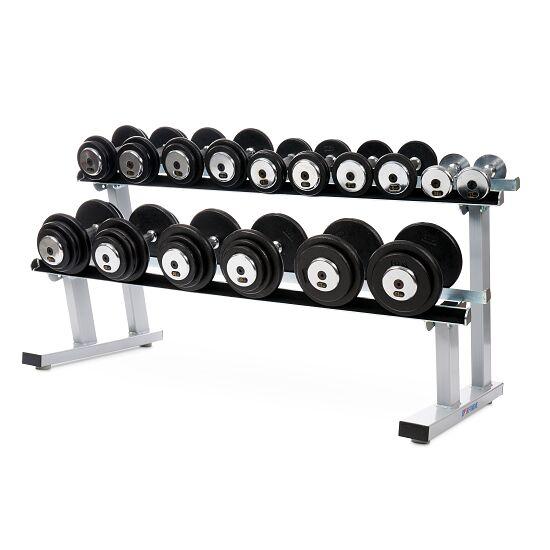 Sport-Thieme® Compact Dumbbell Set 2.5-22.5 kg, incl. double dumbbell stand