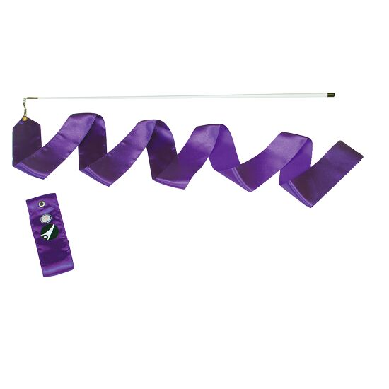 Sport-Thieme® Competition Gymnastics Ribbon Competition, 6 m long, Purple