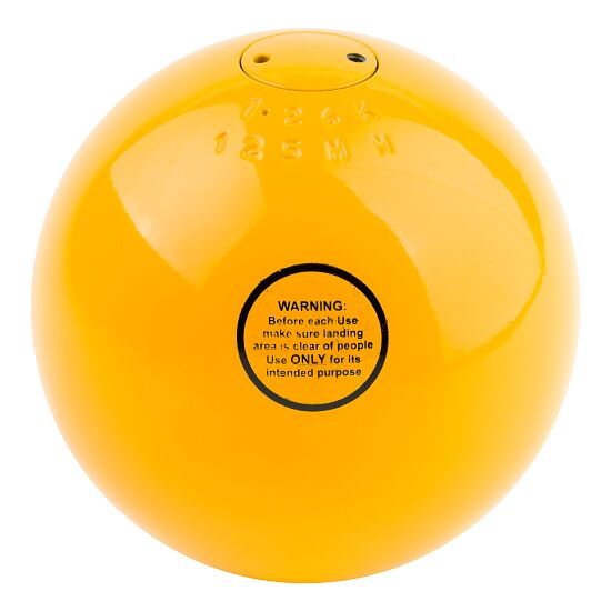 Sport-Thieme® Competition Shot Put 7.26 kg, yellow, ø 125 mm