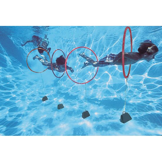 Sport-Thieme® Diving Hoop Game Set of 4