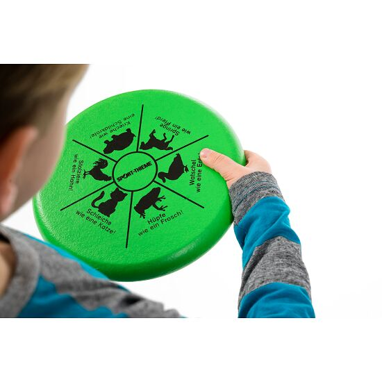 Sport-Thieme® Educational Throwing Discs Movement instructions