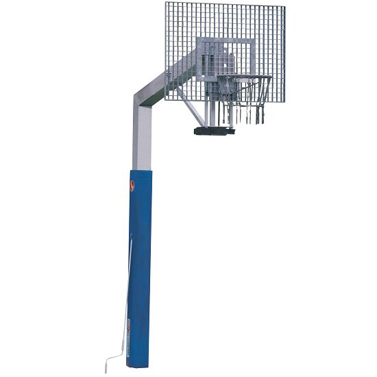"Sport-Thieme® ""Fair Play Silent"" Basketball Unit with Height Adjustment ""Outdoor"" hoop, 120x90 cm"