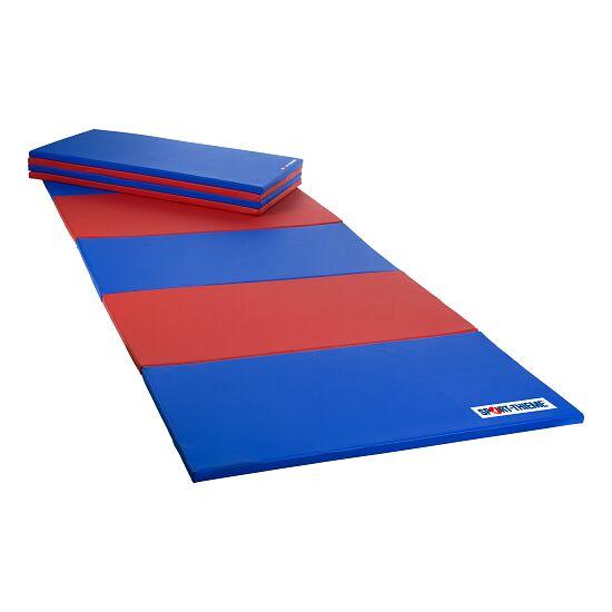 Sport-Thieme® Faltmatte 240x120x3,5 cm, Blau-Rot