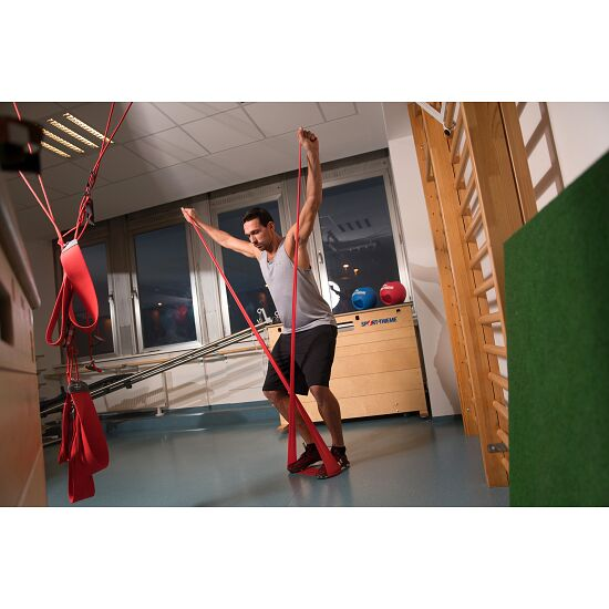 Sport-Thieme® Fitness-Band 150 2 m x 15 cm, Rot = extra stark