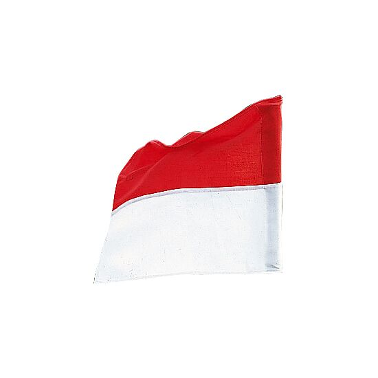 Sport-Thieme Flag for Boundary Poles up to ø 30 mm Red/white